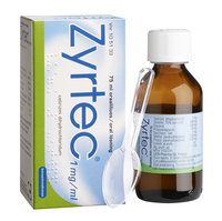 ZYRTEC 1 mg/ml oraaliliuos 75 ml