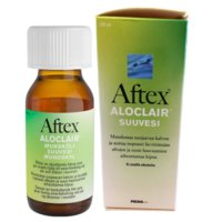 AFTEX ALOCLAIR SUUVESI 120 ML