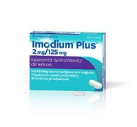 IMODIUM PLUS 2/125 mg tabl 6 fol